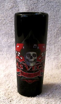 Beautiful - Las Vegas - Up All Night - Tall Shot Glass - Great Gift -Collectible