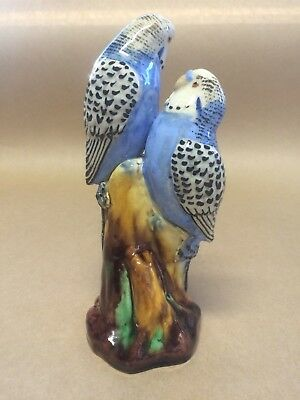 Grace Seccombe - Pair Of Blue Budgies