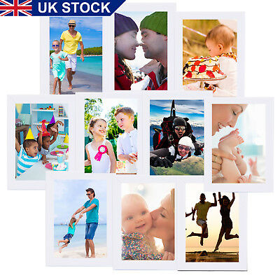 10x Photos Large Multi Picture Frame Collage Aperture Wall decor Memories