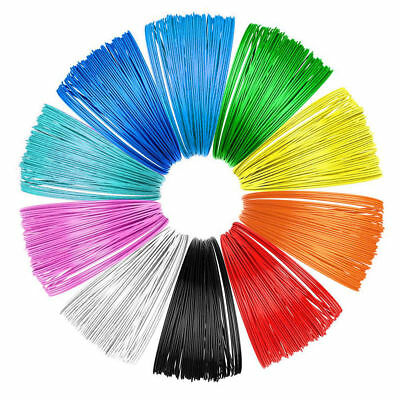 10x 5M 1.75mm PLA Printing Filament Modeling For 3D Printer Pen Drawing refill