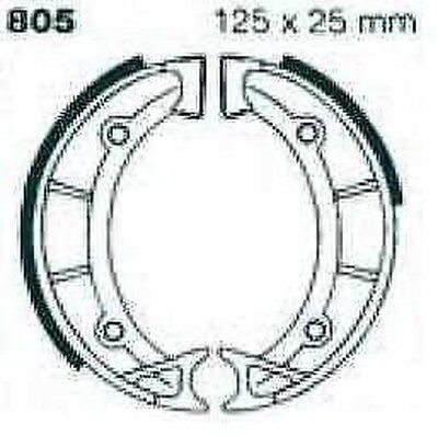 EBC Brake Shoes without Springs 805