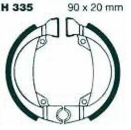 EBC Brake Shoes without Springs H335
