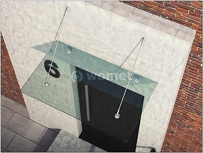 Glass Canopy Roof components, stainless steal brackets.