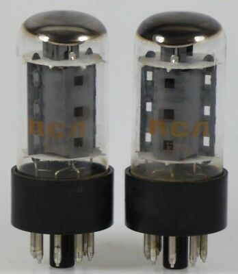 2x 7591A RCA black base tube / Röhre tested very well