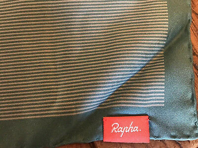 Rapha Cycling Silk Scarf BNWT- RRP £50