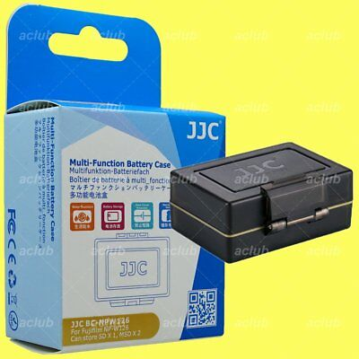 JJC BC-NPW126 2-In-1 Battery Case & SD MicroSD Card Holder for Fujifilm NP-W126