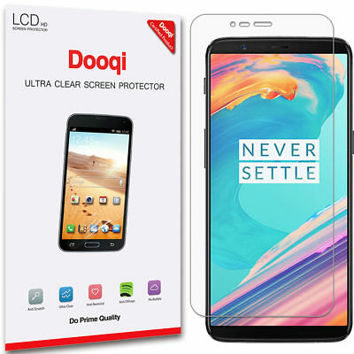 2X Dooqi [Full Coverage] HD Clear TPU Screen Protector Saver For OnePlus 5T