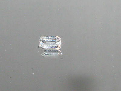 Aquamarine, Clear Baguette cut, Natural Colorless Aquamarine gemstones, SI