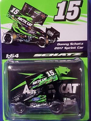 2017 Donny Schatz #15 TSR Artic Cat 1:64th Sprintcar