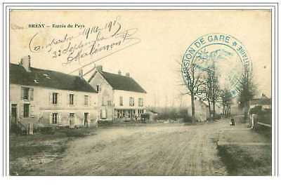 02.breny.entree Du Pays.cachet Militaire