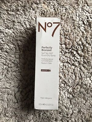 No7 Self Tan spray 125 ml