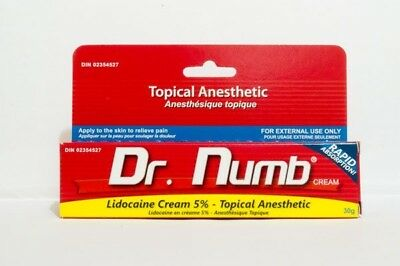 Dr Numb Tattoo / Piercing Numbing Cream (UK Supplied)