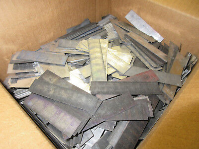 35 Lbs. Letterpress Lead Line Spacing/ Rule / Scrap   D96
