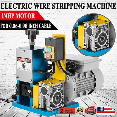 Protable Electric Wire Stripping Machine Metal Scrap Cable Stripper Recycle Tool