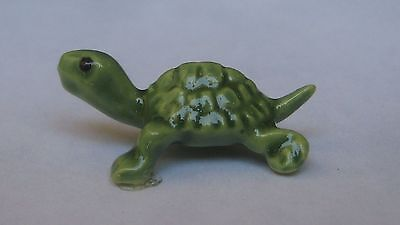 "Hagen Renaker Baby Box Turtle Miniature Figurine 1"" long"