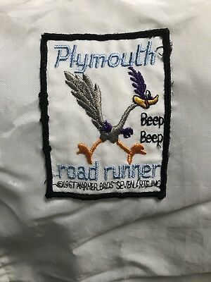 Vintage 1970s Original Plymouth Roadrunner Jacket!  Perfect condition