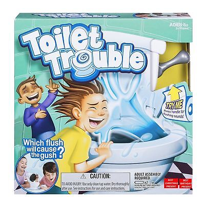 Toilet Trouble Hilarious Game With Flush Sound Effects Kids Christmas Family Fun