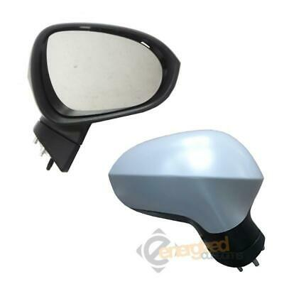 Seat Ibiza Mk5 2008-2016 Electric Wing Door Mirror Primed Cover Drivers Side