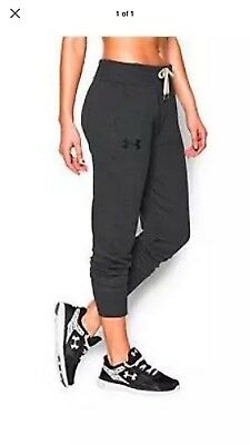 BRAND NEW WITH TAGS Under Armour Favorite Fleece Joggers Women Sz XL $55 retail