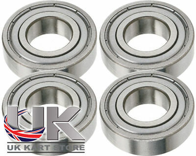 Kingpin Lager 8mm x 22mm 608ZZ 4er Pack UK Kart Store