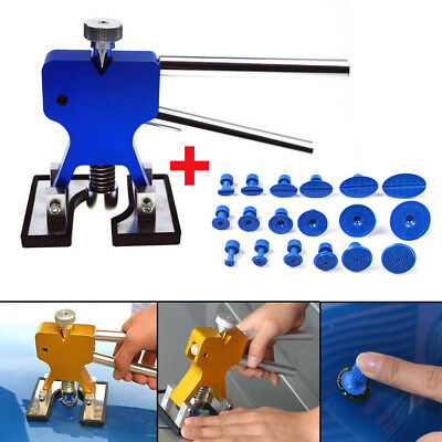 Car Body Hail Glue Puller Lifter +18 Tabs Paintless Removal Dent Repair PDR Tool