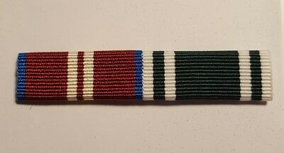 Queens Diamond Jubilee Medal and Ambulance Service LSGC  Medal Sew on Ribbon Bar