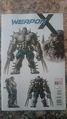Weapon X # 11  Nm  1:25  Deodato Design Variant  2017