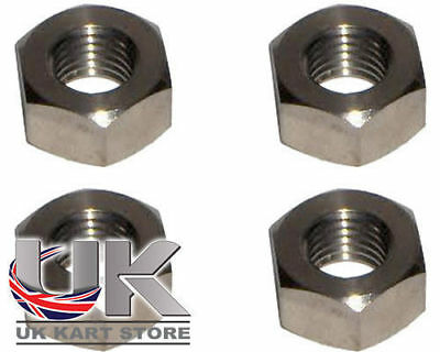 M8 LINKS Muttern / Spurstangenkopf Muttern 8mm x 4 L/h Kart
