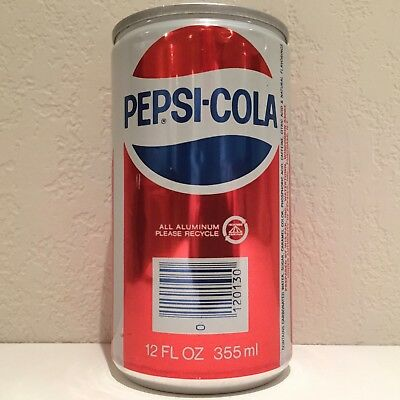 Vintage Pepsi All Aluminum Soda Can