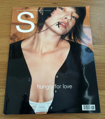 RARE Sisley winter 2001 nsfw catalog Terry Richardson