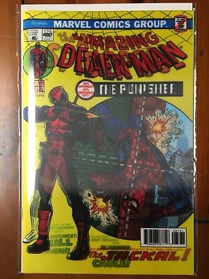 Despicable Deadpool #287 Lenticular Cover. Nm