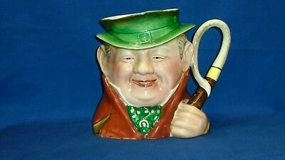 "Beswick Ware 281 Large Toby Character Jug Tony Weller 7"" collectable"