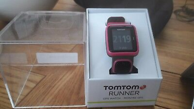 Tomtom Runner GPS Running Watch Colour Grey and pink