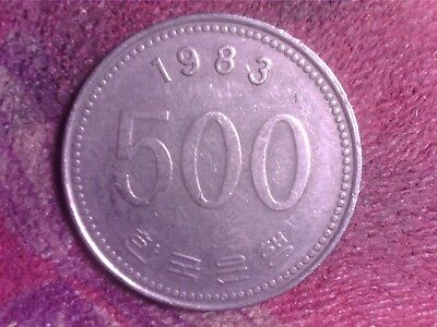 South    Korea  500  Won   1983