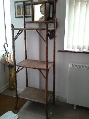 Bamboo hallstand from the 1900's