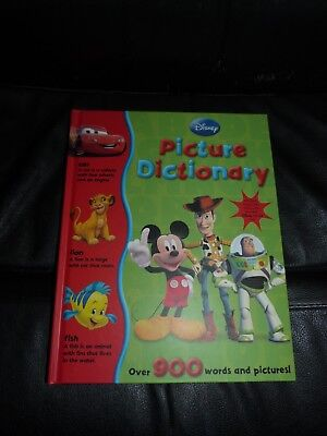 Disney My First Picture Dictionary: Over 900 Words and Meanings by Parragon...