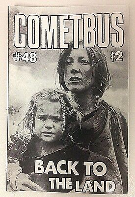 Cometbus 48 Back to the Land zine Punk OOP Crimpshrine Pinhead Gunpowder