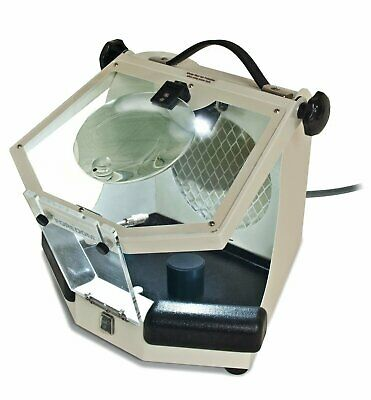 Foredom MALC15 Lighted Work Chamber Enclosure Hood Dust Collector 110/220v