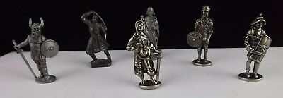 Knight Figurines (Tin) Collectable Miniture Decorative Metalware