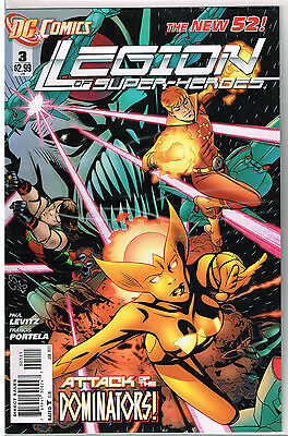 The New 52! Legion of Super-Heroes #3