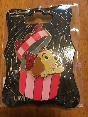 WDI Lady And The tramp christmas Disney Pin