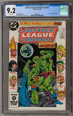 Justice League of America #230 CGC 9.2 (W) War of the Worlds Storyline