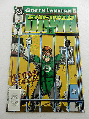Green Lantern Emerald Dawn II #1 VF 8.0 April 1991 DC Comics