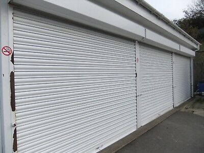 Remote Electric steel roller shutter door