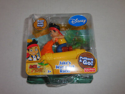 Disney Jake and the Neverland Pirates Jakes Water Jet Racer Fisher Price Toy NEW