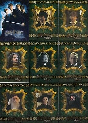Harry Potter And The Chamber Of Secrets Movie 2006 Artbox Base Card Set Of 90