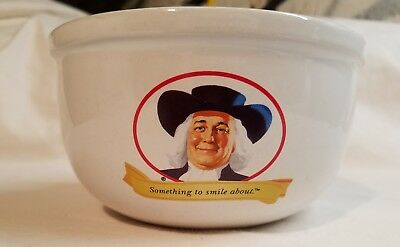 """2005 QUAKER OATS """"Something To Smile About"""" Cereal Bowl Promo Advertising"""