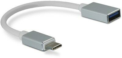 SpeedLink USB-C to USB-A Adapter Cable, silver