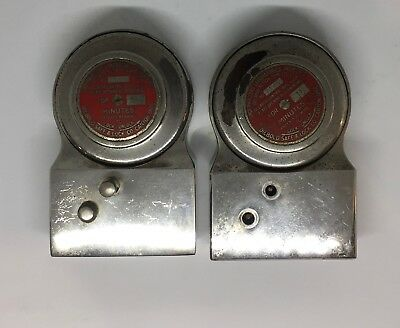 2 Diebold Delayed Action Time Locks Dial Locks