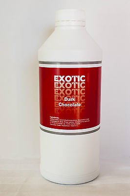 EXOTIC TAN Spray Tan / Tanning Solution DARK CHOCOLATE 2HR TAN 1 Litre